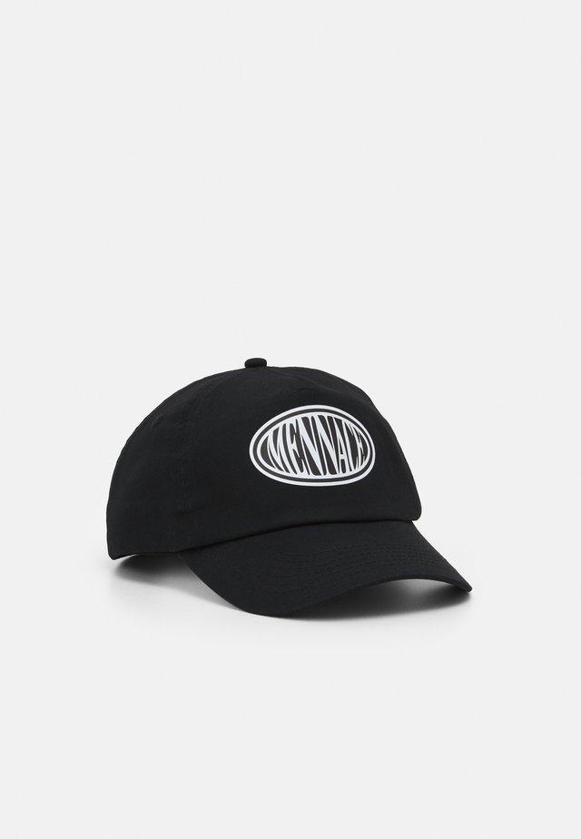 OVAL LOGO UNISEX - Cap - black