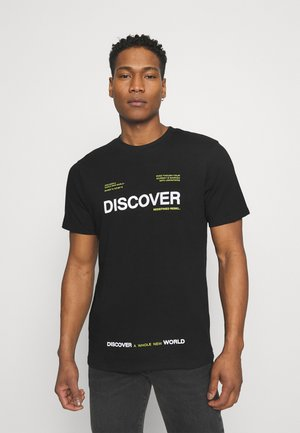 SONNY TEE - Print T-shirt - black