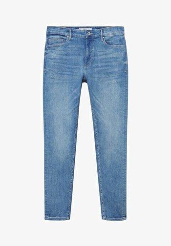 SKINNY  - Slim fit jeans - mittelblau