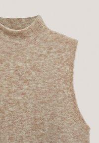 Massimo Dutti - LANGES STRICKKLEID TOTAL LOOK - Jersey dress - beige - 3