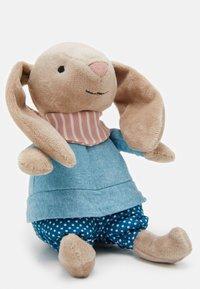 Jellycat - LITTLE RAMBLER BUNNY RATTLE UNISEX - Cuddly toy - beige - 2