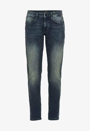 SLIM FIT 2-WAY-STRETCH - Slim fit jeans - dark blue used