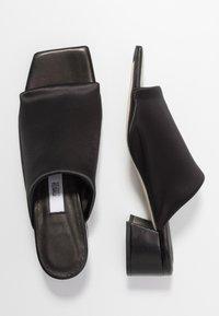 MIISTA - CATERINA - Pantofle - black - 3