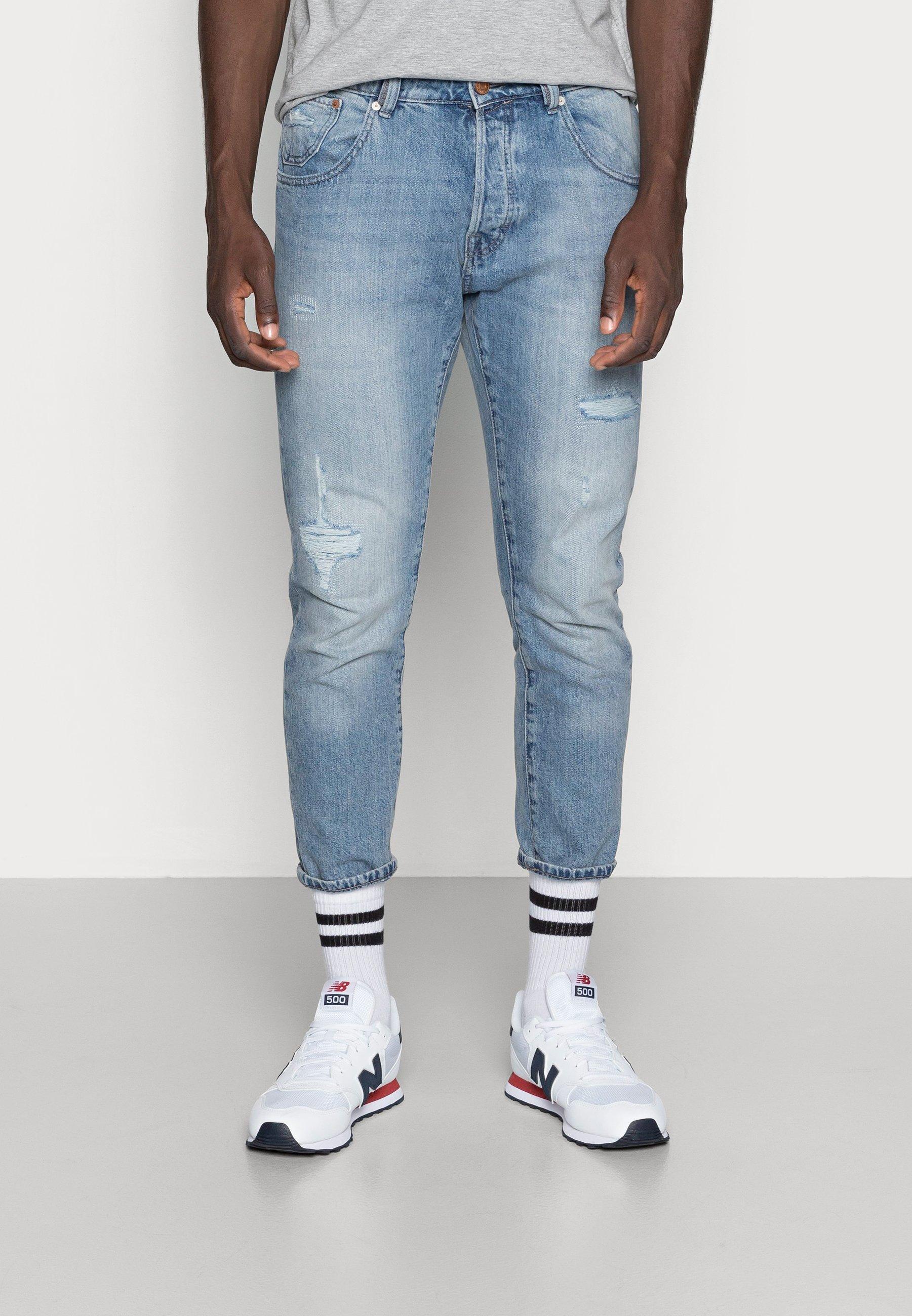 Men JJIFRANK JJLEEN - Slim fit jeans