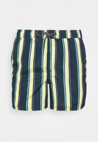 JJIBALI STRIPE - Plavky - navy blazer
