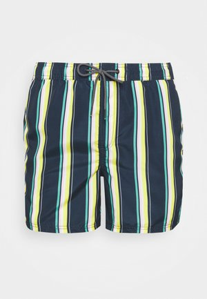 JJIBALI STRIPE - Swimming shorts - navy blazer