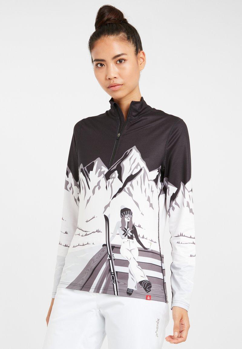 Krimson Klover - ANYONE - Long sleeved top - black