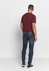 Volcom - Slim fit jeans - dark blue denim - 2