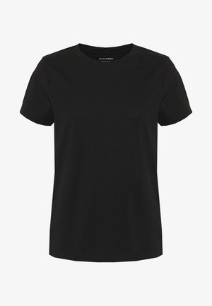 NEW SUPIMA CREW - Basic T-shirt - black