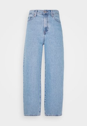 BALLOON LEG - Relaxed fit jeans - light-blue-denim