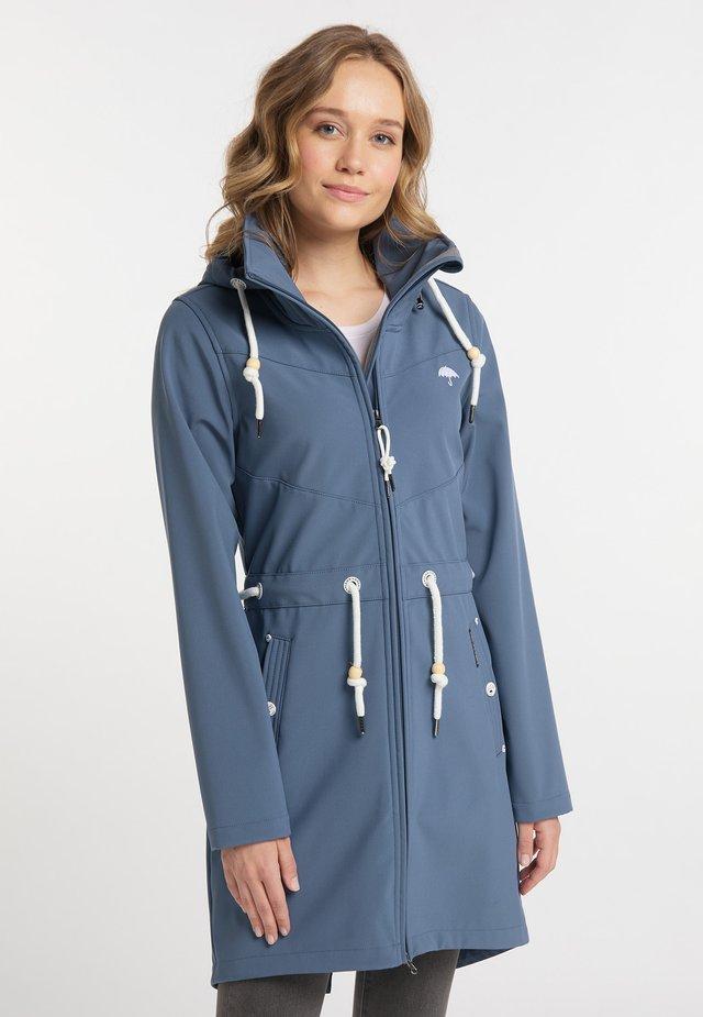 Krátký kabát - graublau