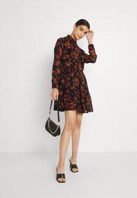 Molly Bracken - LADIES WOVEN DRESS - Day dress - windflowers black - 1