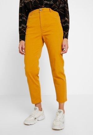 YOSSAN URGENT - Pantaloni - yellow dark