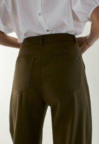 Massimo Dutti - Trousers - khaki - 4