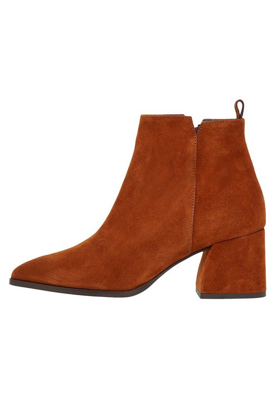 Bianco Biadonata - Ankle Boot Cognac