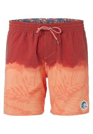 Short de bain - red/orange