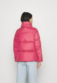 Tommy Hilfiger - PUFFY HOODED - Doudoune - royal magenta - 3