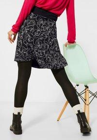 Street One - A-line skirt - schwarz - 2