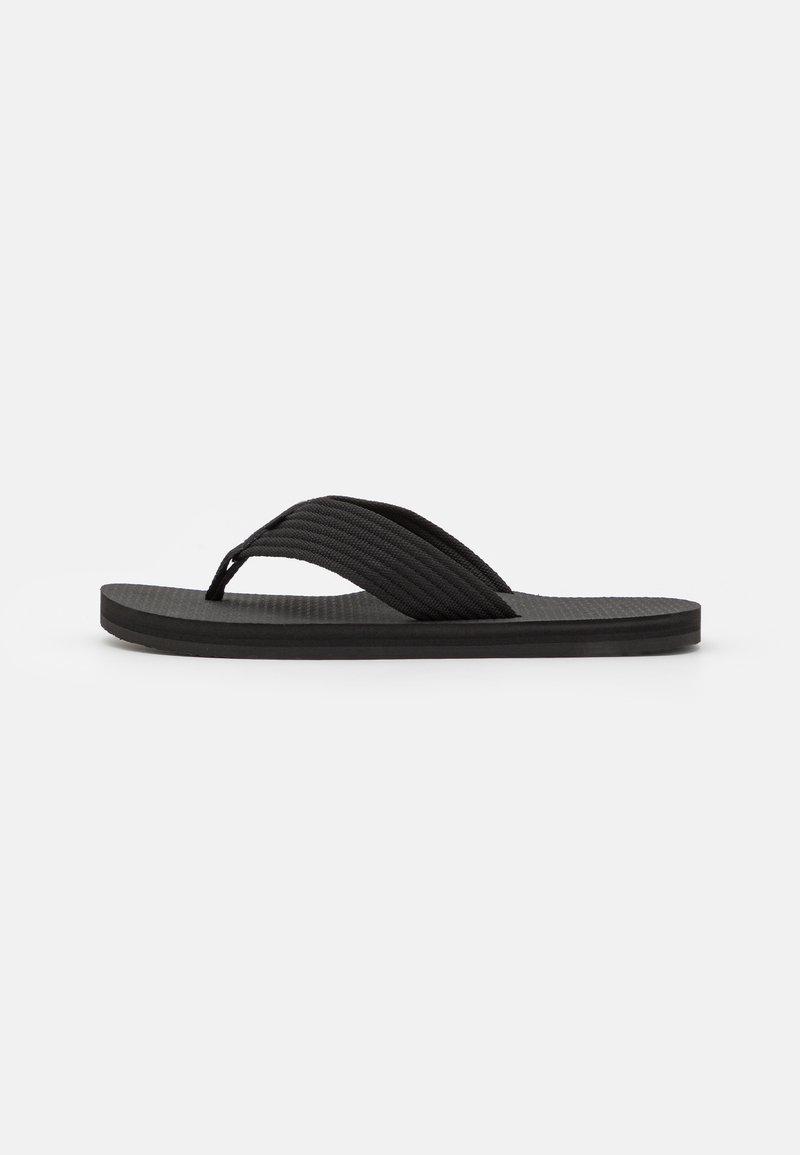 Calvin Klein - T-bar sandals - black