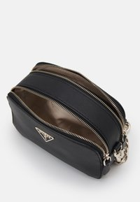 Guess - NOELLE CROSSBODY CAMERA - Across body bag - black - 2