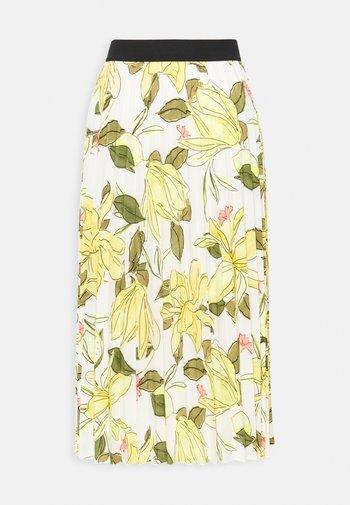 ROCK  - Pleated skirt - multi-coloured