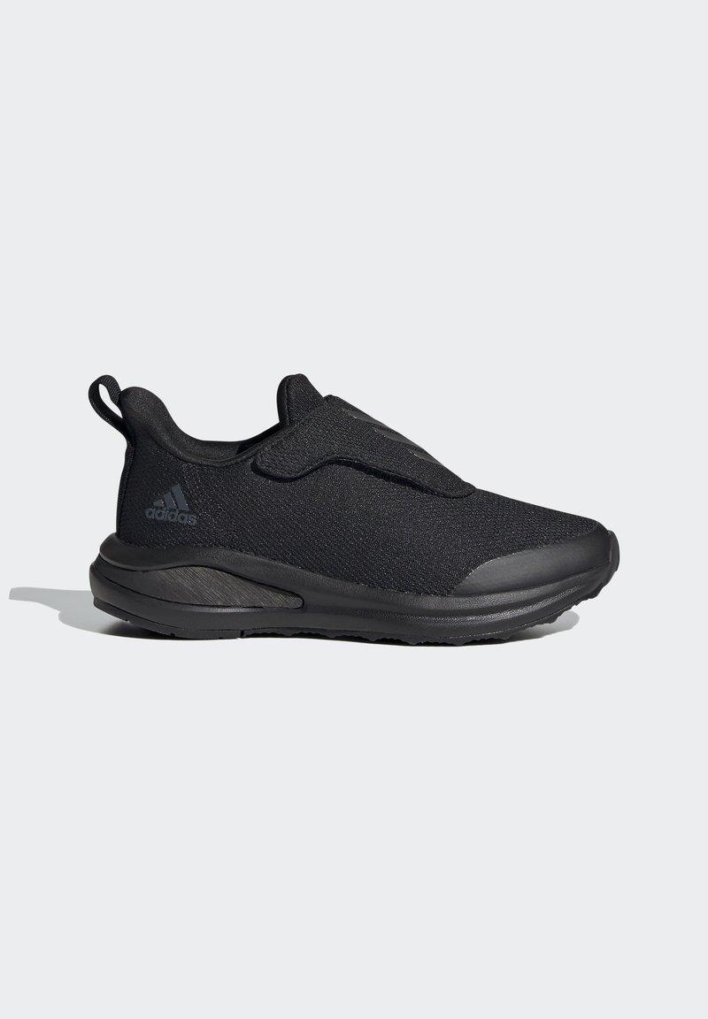adidas Performance - FORTARUN RUNNING - Obuwie do biegania treningowe - black