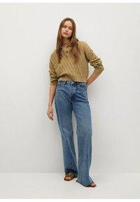 Mango - AZORES - Polo shirt - kaki - 1
