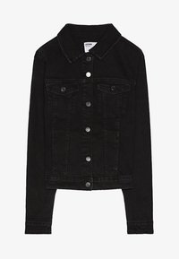 Bershka - Denim jacket - black - 5