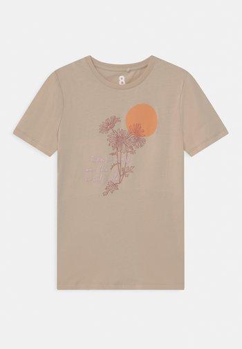 PENELOPE SHORT SLEEVE TEE - T-shirts print - beige