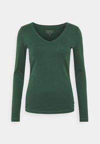 Esprit - CORE - Maglietta a manica lunga - dark green - 0