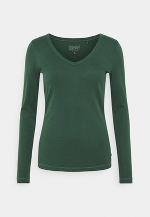 CORE - T-shirt à manches longues - dark green