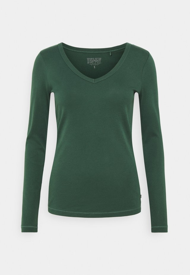CORE - Topper langermet - dark green