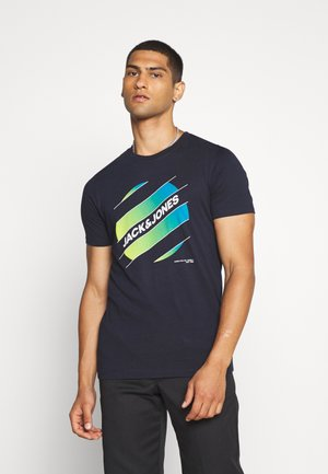 JCOSOUL TEE CREW NECK  - Print T-shirt - sky captain