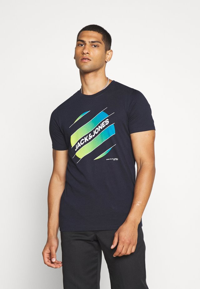 JCOSOUL TEE CREW NECK  - T-shirt con stampa - sky captain