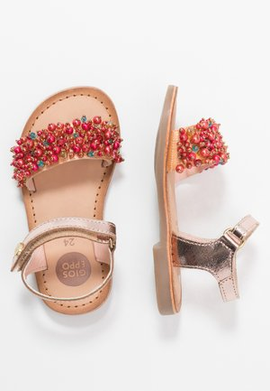 Sandály - cobre