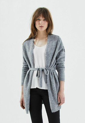 BEADED - Vest - gris clair china