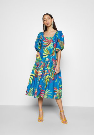 BLUE BANANA MIDI DRESS - Robe d'été - multi