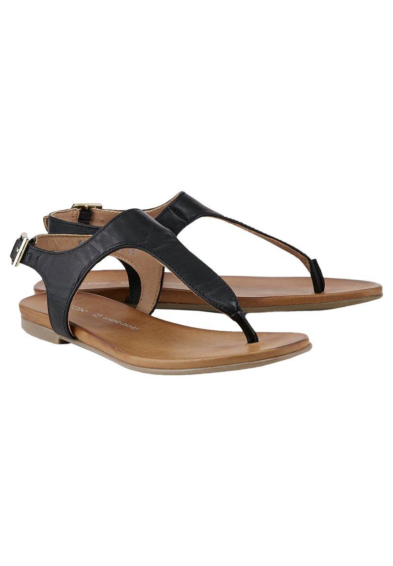 COX - Sandals - schwarz