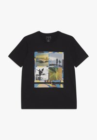 Quiksilver - YOUNGER YEARS - T-shirt print - black - 0