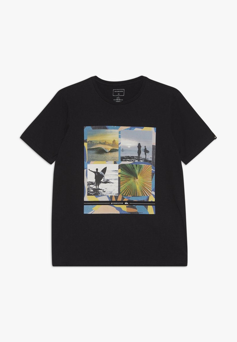 Quiksilver - YOUNGER YEARS - T-shirt print - black