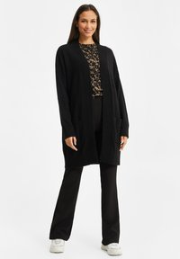 WE Fashion - ZONDER SLUITING - Cardigan - black - 1