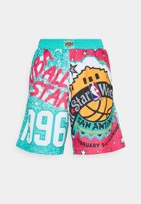 Mitchell & Ness - NBA ALL STAR SHORT - Sports shorts - green/grizzlies teal - 5