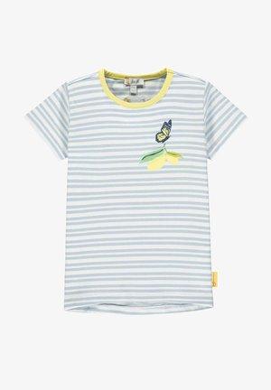 Print T-shirt - brunnera blue