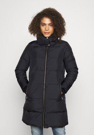 INSULATED COAT - Płaszcz puchowy - black