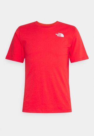 SIMPLE DOME - Basic T-shirt - horizon red