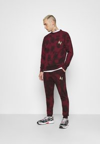 Another Influence - LEX  - Tracksuit bottoms - burgundy - 1