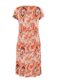 Live Unlimited London - Jersey dress - orange - 4