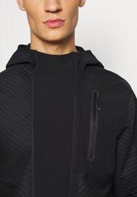 adidas Performance - TRAINING HOODED TRACKSUIT JACKET - Zip-up hoodie - black - 6