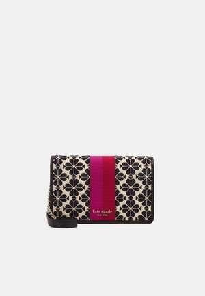 FLOWER WALLET ON THE CHAIN - Sac bandoulière - cream multi