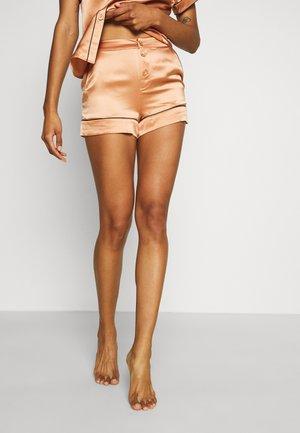 CLASSIC SHORTS - Spodnie od piżamy - gold